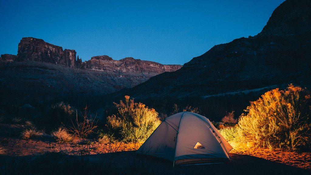 Quelques bienfaits du camping pendant les vacances